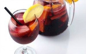 spanish sangria typical tapas barcelona restaurant guito